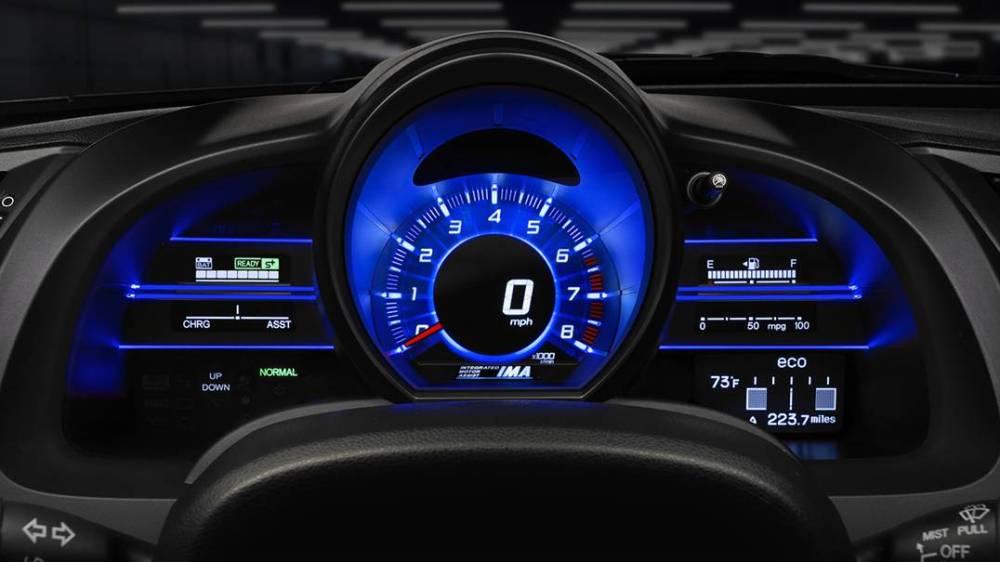 2016 Honda Cr Z >> 2016 Honda CR-Z interior features | The News Wheel