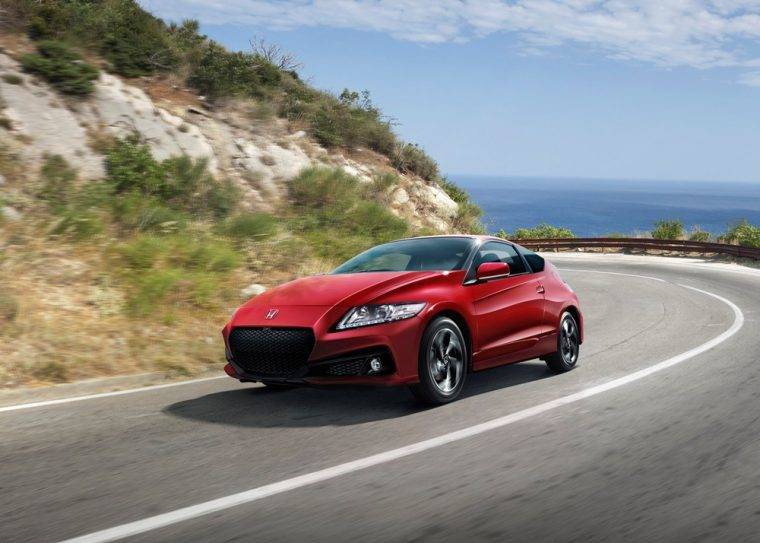 There are a variety of color options for the 2016 Honda CR-Z