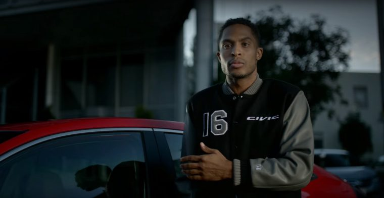 2016 Honda Civic Jackets commercial