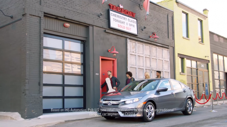 2016 Honda Civic commercial Band