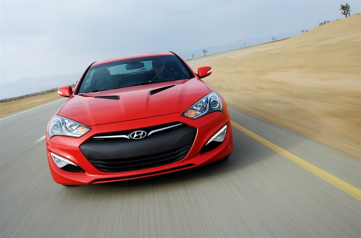 2016 Hyundai Genesis Coupe  model overview front exterior