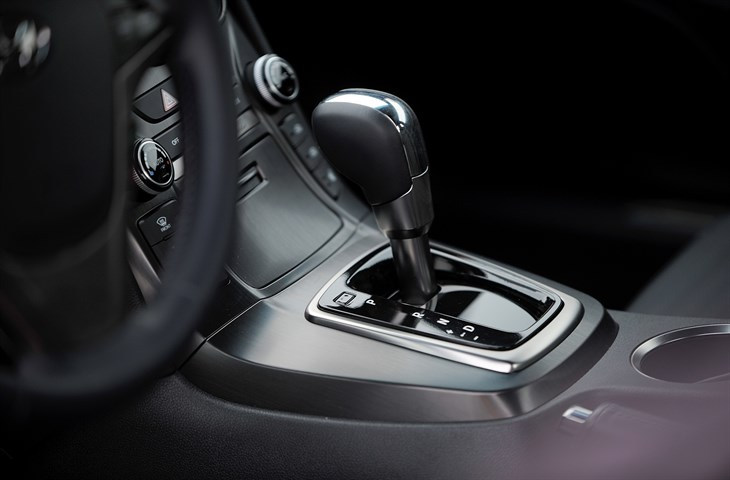 2016 Hyundai Genesis Coupe  model overview shifter