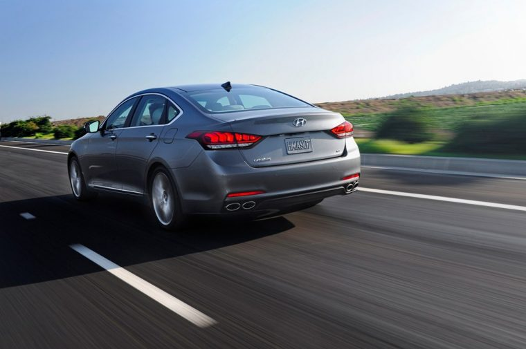2016 Hyundai Genesis overview rear