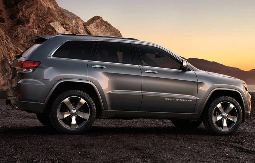 2016 Jeep Grand Cherokee Silhouette 2016 jeep grand cherokee overview the news wheel  at bayanpartner.co