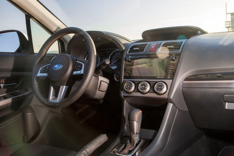 2016 Subaru Crosstrek Interior