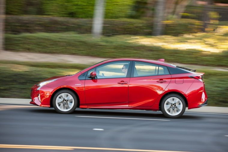 2016 Toyota Prius Four Touring 59 mpg combined rating