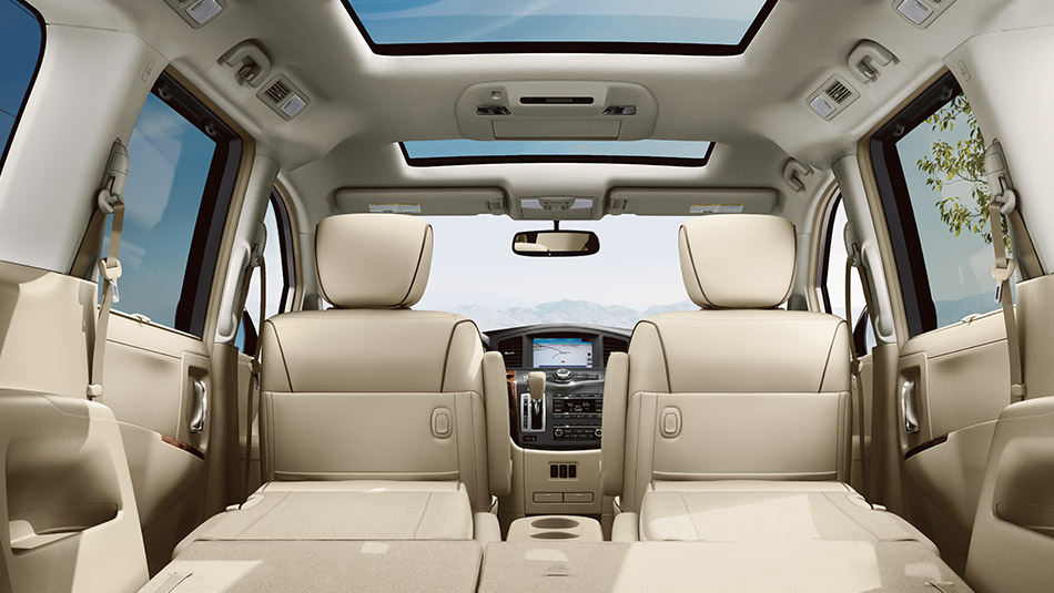 2016 Nissan Quest Interior Fold Down Seats Large The