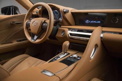 Lexus LC 500 NAIAS 2016