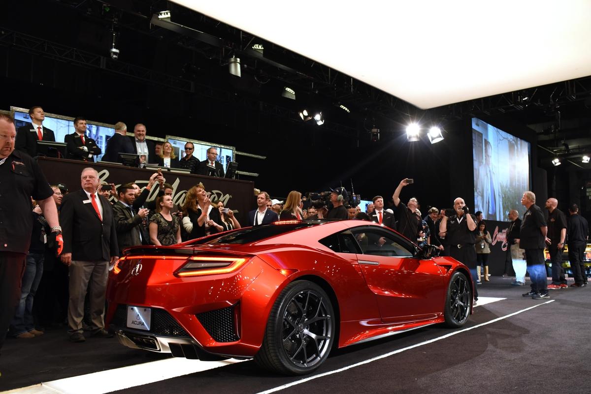 Rick Hendrick Bids 1 2 Million On First 2017 Acura Nsx