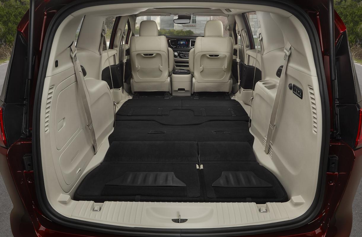 Chrysler pacifica cargo space #1