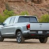 The new 2017 Honda Ridgeline pickup truck