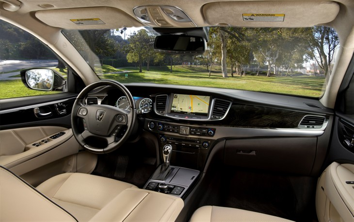 2016 Hyundai Equus model overview dashboard