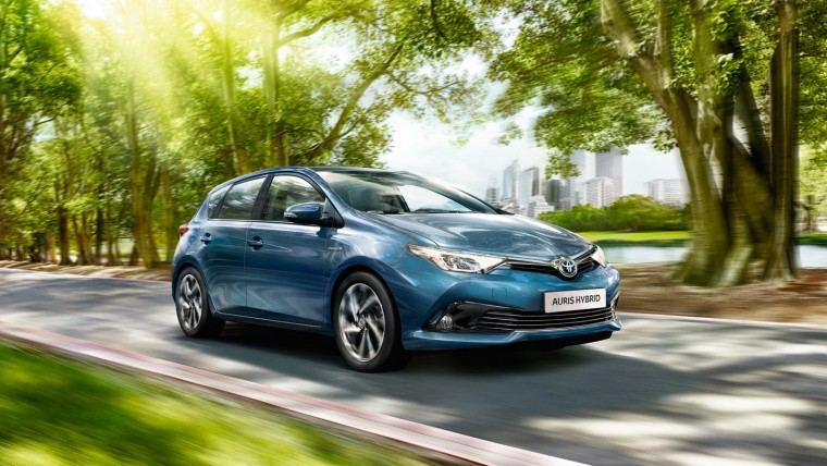 Toyota Auris Hybrid Europe sales 2015