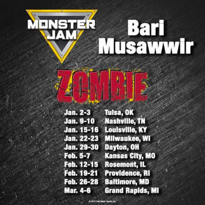 Bari Musawwir Monster Jam East Coast Schedule