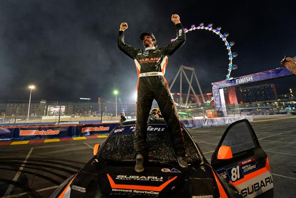 Bucky Lasek will represent Subaru Rally Team USA at the Sno*Drift Rally at the end of this month