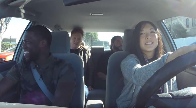 Conan Teaching Staffer to Drive
