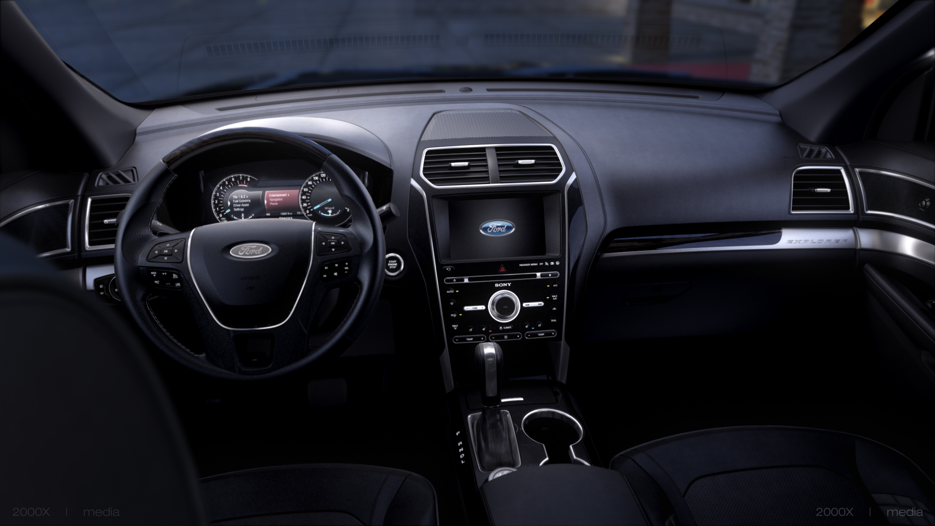 2016 ford explorer platinum being offered with all ebony for All blacks interiors