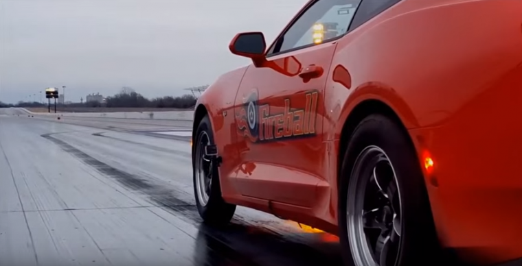 A new YouTube video shows a 2016 Camaro SS running a 9.83 second quarter mile