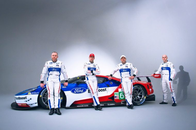 Ford GT Driver Lineup for 2016 WEC