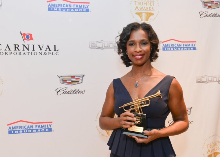 GM executive wins 2016 Trumpet Award