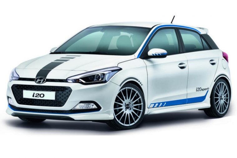 Hyundai i20 Sport hatchback release in Germany