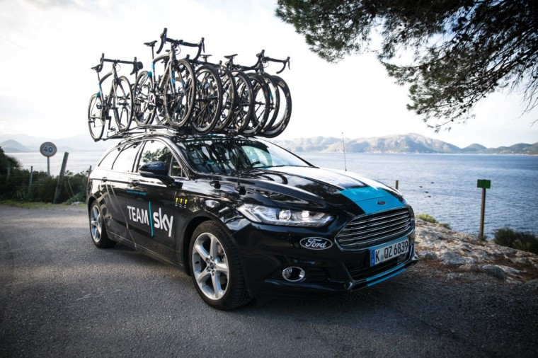 Ford and Team Sky Cycling