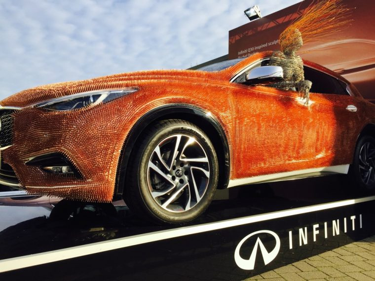 Infiniti QX30 Art Car