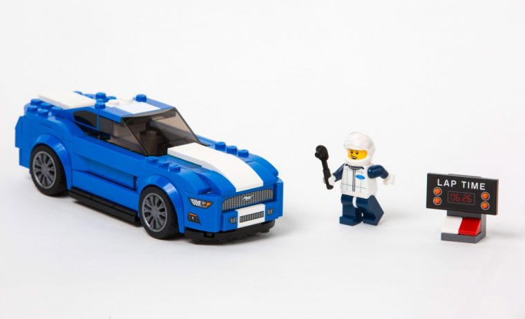 LEGO Speed Champions Ford Mustang Set