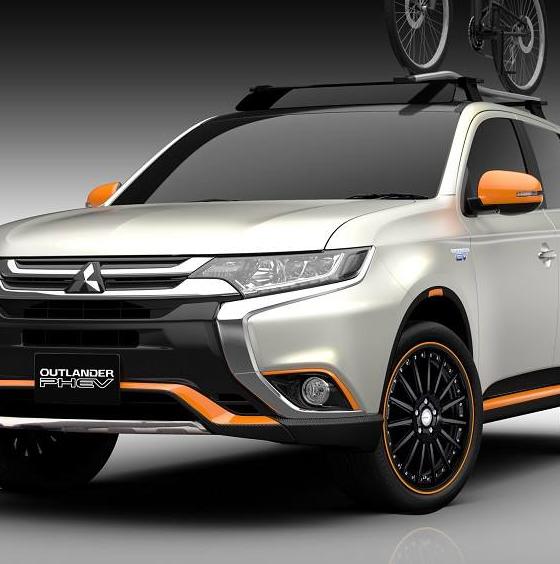 Delica D5 Four Wheel: Four Customized Mitsubishi Models Prepared For Tokyo Auto