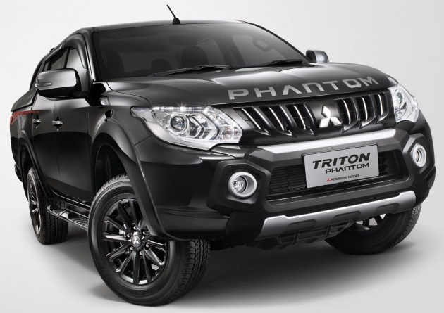 Mitsubishi Triton Phantom Edition Front End