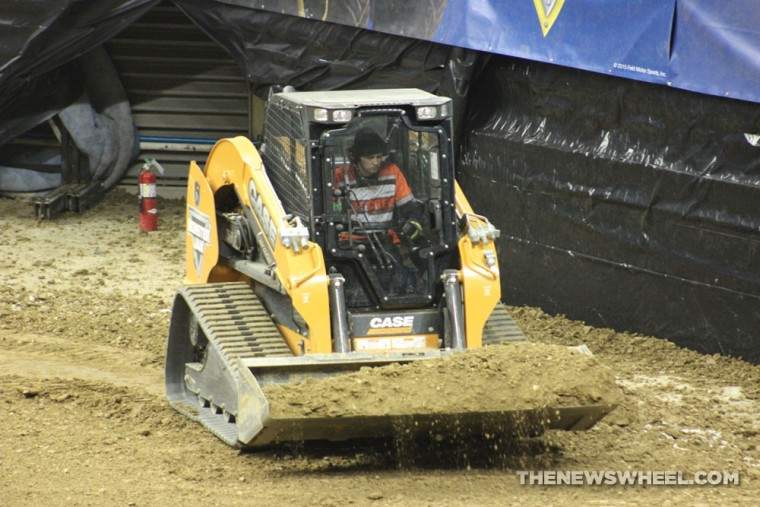 building a monster jam track requires 7 500 tons of dirt and just as much heart the news wheel. Black Bedroom Furniture Sets. Home Design Ideas