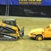 Monster Jam dirt track for trucks Dayton construction