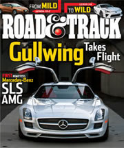Road Track magazine cover