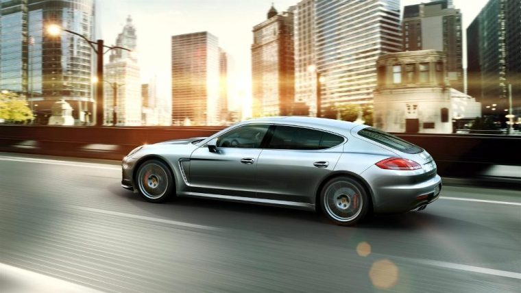 The 2016 Porsche Panamera is available with a turbo engine