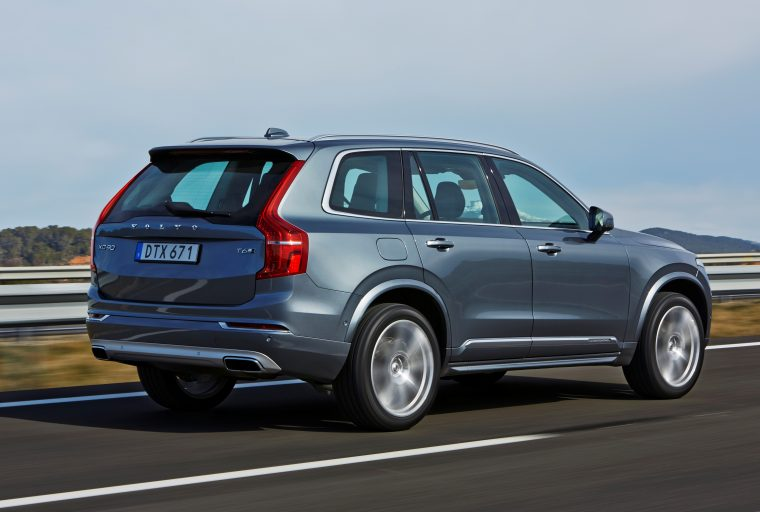 Euro Ncap Recently Awarded The 2016 Volvo Xc90 Best In Cl Awards Both Large