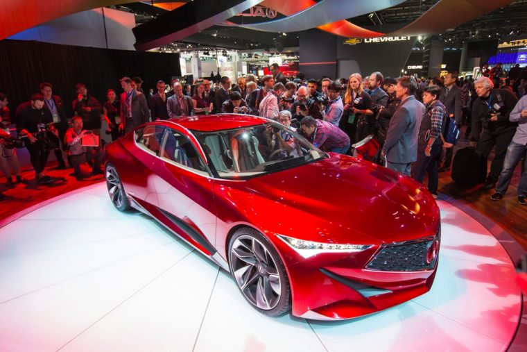 Acura recently unveiled its Precision Concept at the Detroit Auto Show