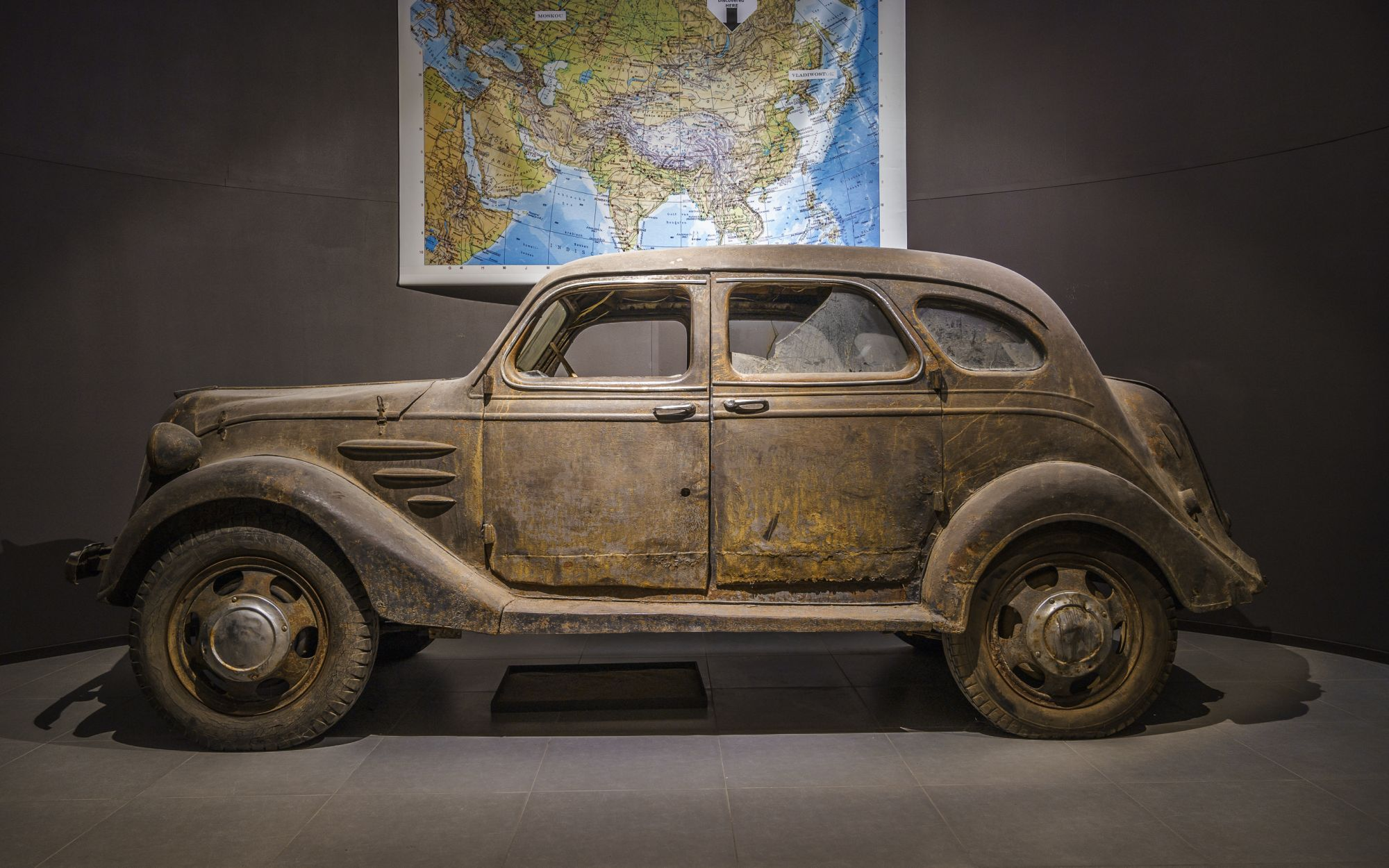 World\'s Oldest Toyota Found in Russian Barn   The News Wheel