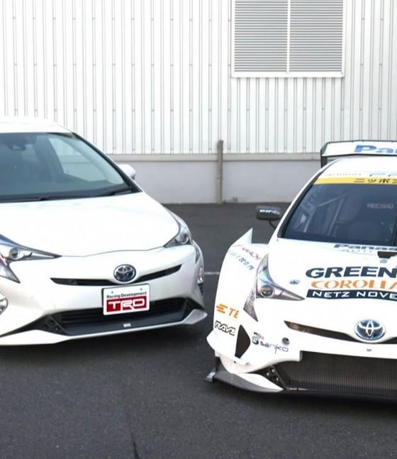 Toyota Prius 4th Generation: Toyota Prius GT300 Debuts At Tokyo Auto Salon