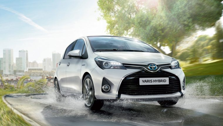 Toyota Yaris Hybrid 2015 Europe sales