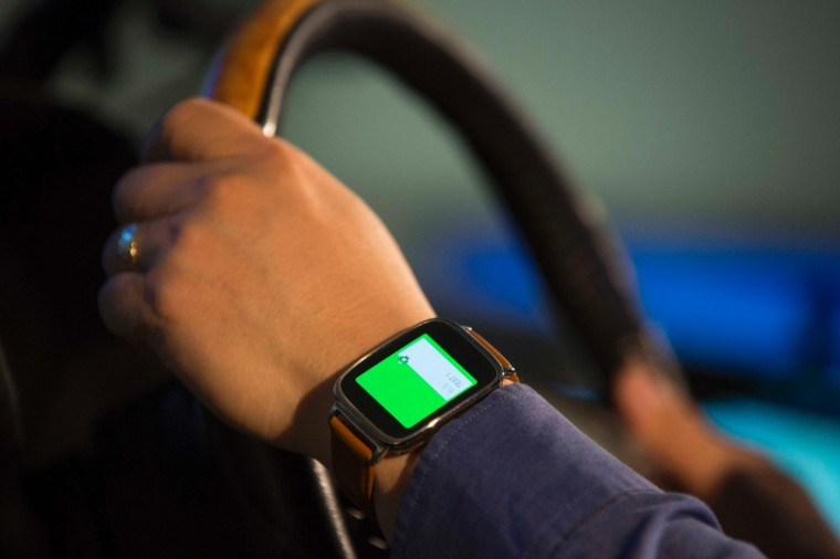 Ford smartwatch wearables lab