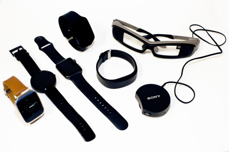Some of the wearables developed at Ford's Research and Innovation Center