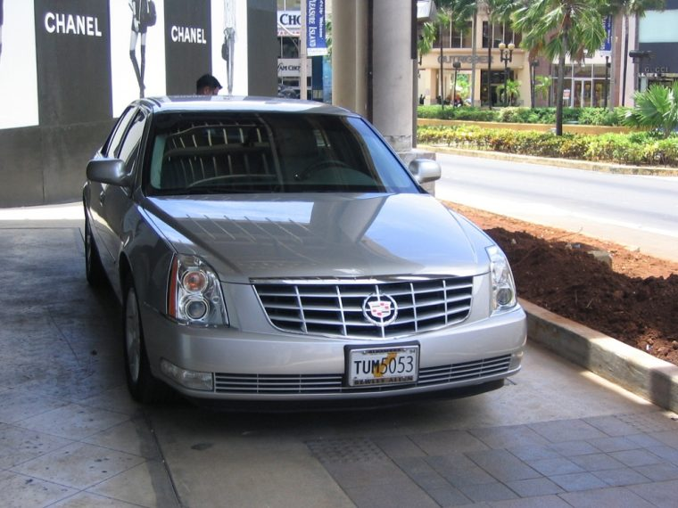 The 2006 Cadillac DTS was the vehicle that finally replaced the classic DeVille sedan