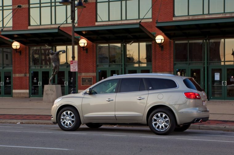 The Buick Enclave has won the 5-Year Cost to Own Full-Size SUV Award for the 3rd straight year