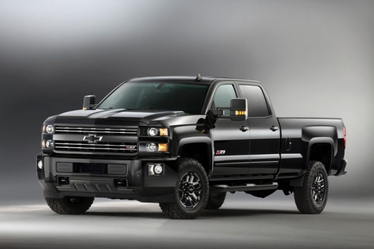 Chevy is offering Midnight Special Editions of both the Silverado 1500 Z71 and Colorado Z71trucks