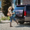 A manual rear liftgate is equipped on the 2016 Chevrolet Tahoe