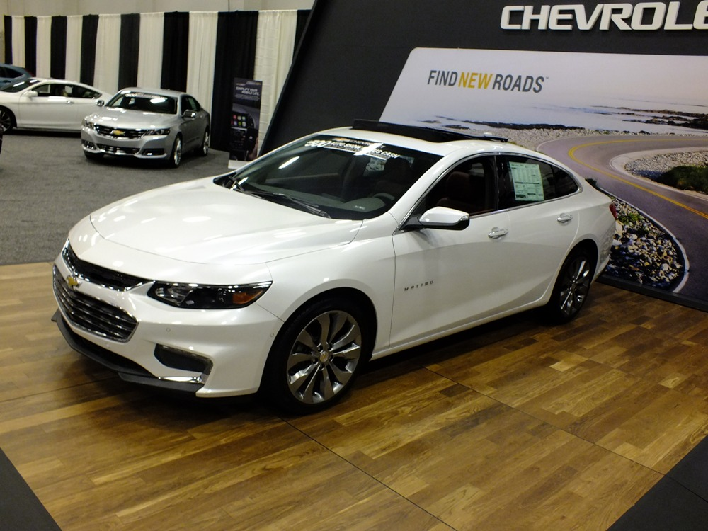 Win A Year Lease On A Chevy Malibu At The Dayton Auto Show - Voss chevrolet car show