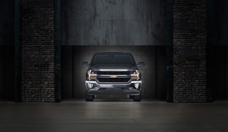2016 Chevy Silverado with eAssist technology