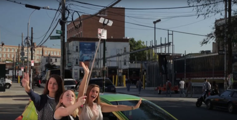 "Picture of 2016 Chevy Spark in ""Urban Movement: New Roads in NYC"" video set in Williamsburg, Brooklyn"