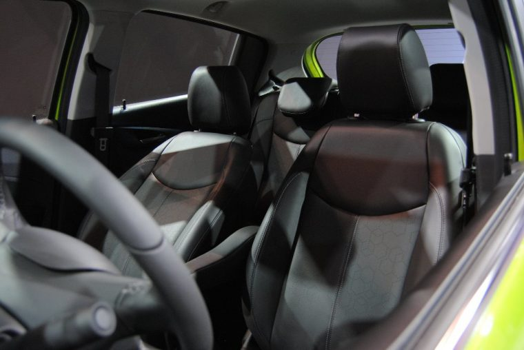 Single-zone air conditioning is a standard feature of the 2016 Chevy Spark