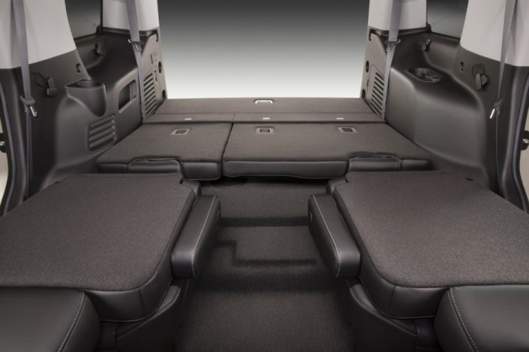 The 2016 Chevrolet Tahoe offers abundant storage space